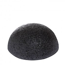 Спонж для лица Missha Natural Konjac Cleansing Puff - Bamboo Charcoal