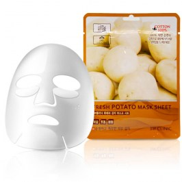 Тканевая маска 3W Clinic Fresh Potato Mask Sheet