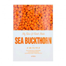 Тканевая маска A'Pieu My Skin-Fit Sheet Mask Sea Buckthorn