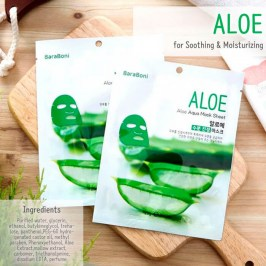 Тканевая маска Baraboni Aloe Mask Sheet