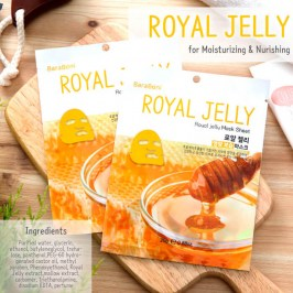 Тканевая маска Baraboni Royal Jelly Mask Sheet