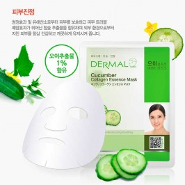 Тканевая маска Dermal Cucumber Collagen Essence Mask