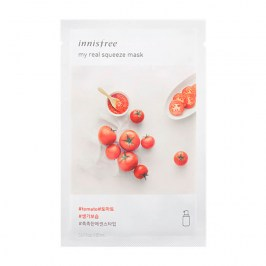 Тканевая маска Innisfree It's Real Squeeze Mask - Tomato