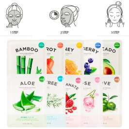 Тканевая маска It's Skin The Fresh Rose Mask Sheet