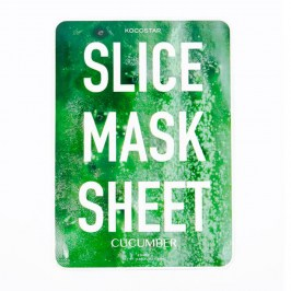 Тканевая маска Kocostar Slice Mask Sheet - Cucumber