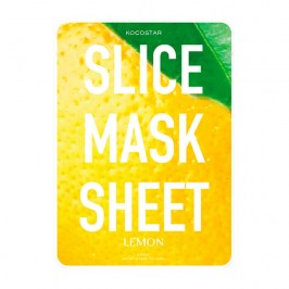 Тканевая маска Kocostar Slice Mask Sheet - Lemon