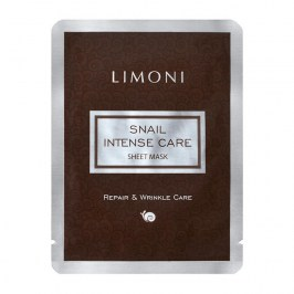 Тканевая маска Limoni Snail Intense Care Sheet Mask