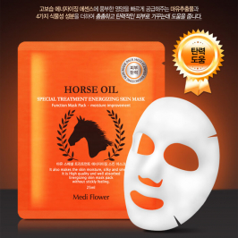 Тканевая маска Medi Flower Special Treatment Energizing Skin Mask Horse Oil