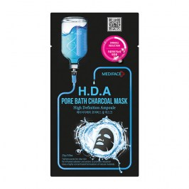 Тканевая маска Mediface H.D.A Pore Bath Charcoal Mask