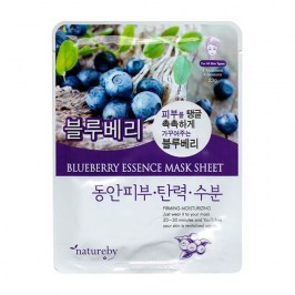 Тканевая маска Natureby Blueberry Essence Mask Sheet