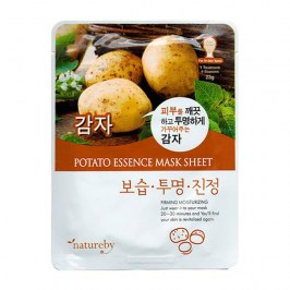 Тканевая маска Natureby Potato Essence Mask Sheet