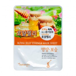Тканевая маска Natureby Royal Jelly Essence Mask Sheet