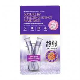 Тканевая маска Natureby Vitalizing Essence Mask Sheet