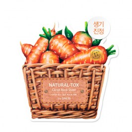 Тканевая маска The Saem Natural-tox Carrot Mask Sheet