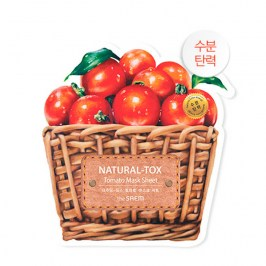 Тканевая маска The Saem Natural-tox Tomato Mask Sheet