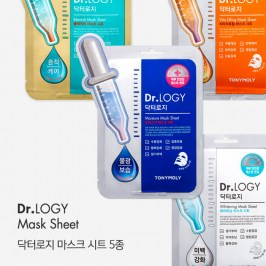 Тканевая маска Tony Moly Dr. Logy Sensitive Mask Sheet