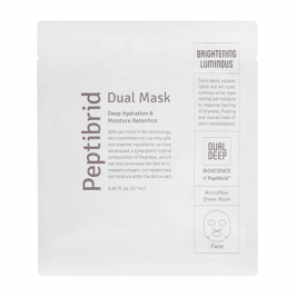 Тканевая маска Vitabrid C12 Peptibrid Dual Mask Brightening Luminous