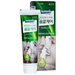Зубная паста CJ Lion Dentor Systema Breath Care Advance Toothpaste