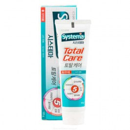Зубная паста CJ Lion Dentor Systema Total Care Toothpaste - Fresh Green Mint