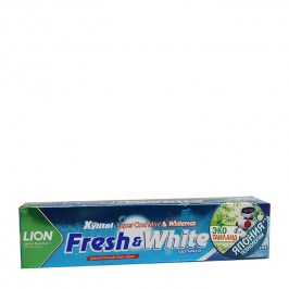 Зубная паста Lion Thailand Fresh & White Toothpaste - Extra Cool Mint (mini)