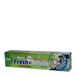 Зубная паста Lion Thailand Fresh & White Toothpaste - Fresh Cool Mint (mini)