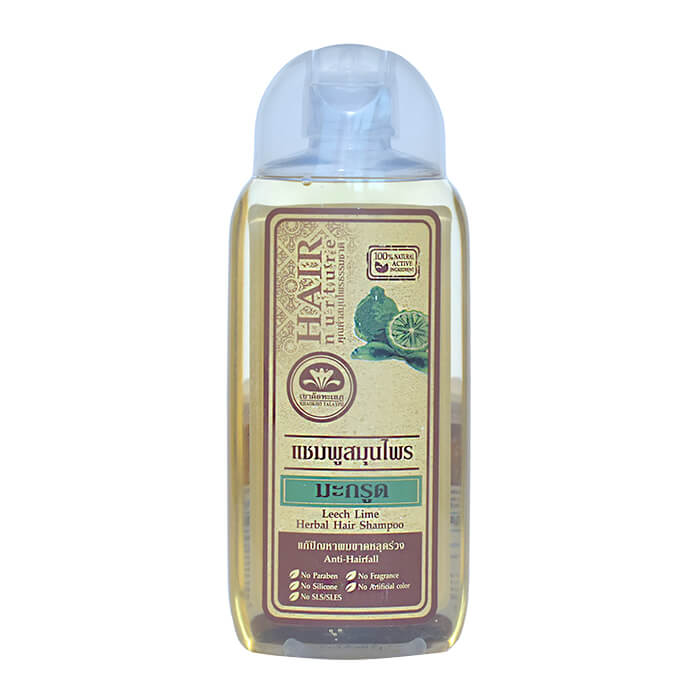 Шампунь для волос Khaokho Talaypu Leech Lime Herbal Hair Shampoo