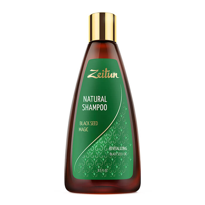 Шампунь для волос Zeitun Natural Shampoo Black Seed Magic