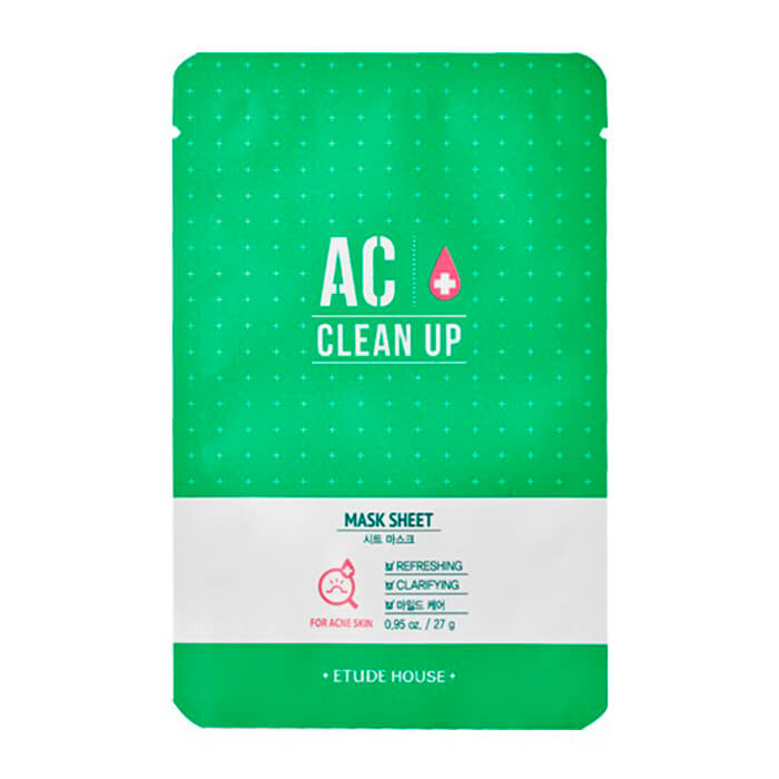 Тканевая маска Etude House AC Clean Up Mask Sheet