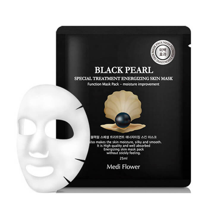 Тканевая маска Medi Flower Special Treatment Energizing Skin Mask Black Pearl