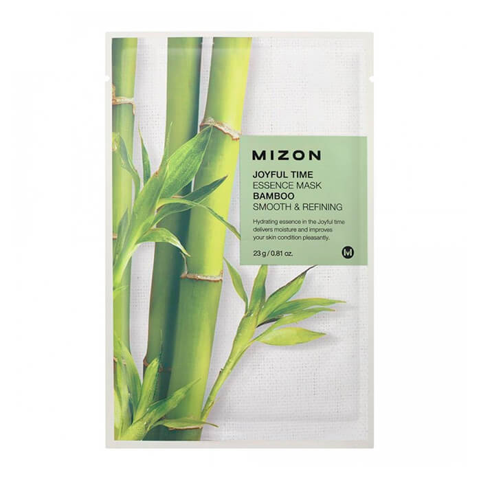 Тканевая маска Mizon Joyful Time Essence Mask - Bamboo