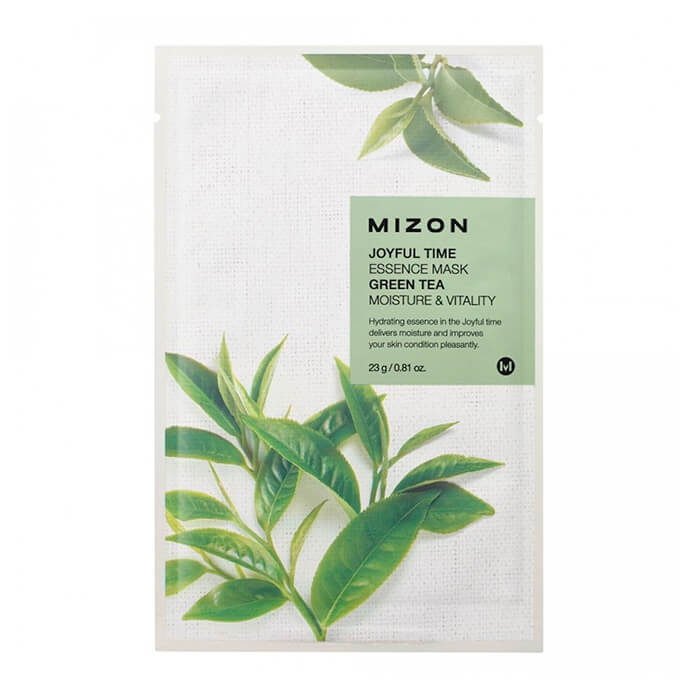 Тканевая маска Mizon Joyful Time Essence Mask - Green Tea